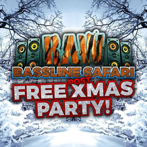 raw bassline safari, xmas, christmas, birmingham, xmas tave, christmas party. dj wisk, mc chiverton, dirtbox, digbeth, rainbow venues, suk10c, ravers, brum, birmingham party